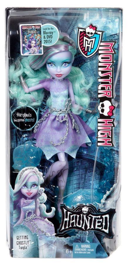 Фото 4 - Monster high haunted getting ghostly Twyla