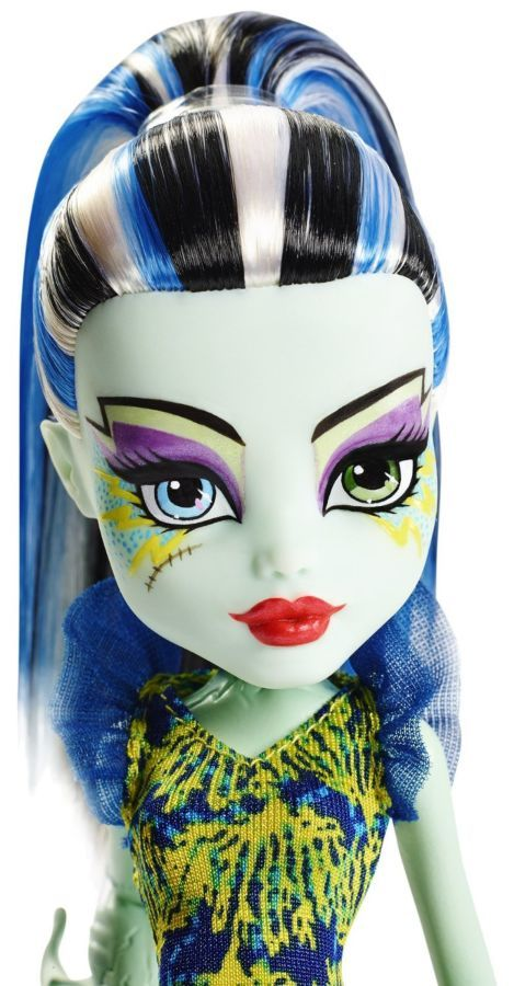 Фото 2 - Monster high great scarrier reef Ghoulfish Frankie Stein