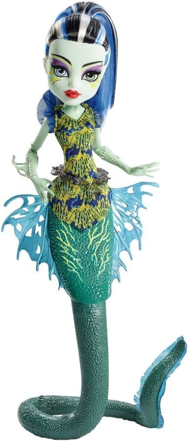 Фото - Monster high great scarrier reef Ghoulfish Frankie Stein