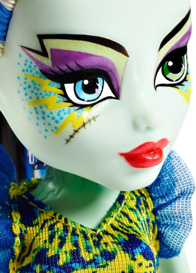 Фото 3 - Monster high great scarrier reef Ghoulfish Frankie Stein