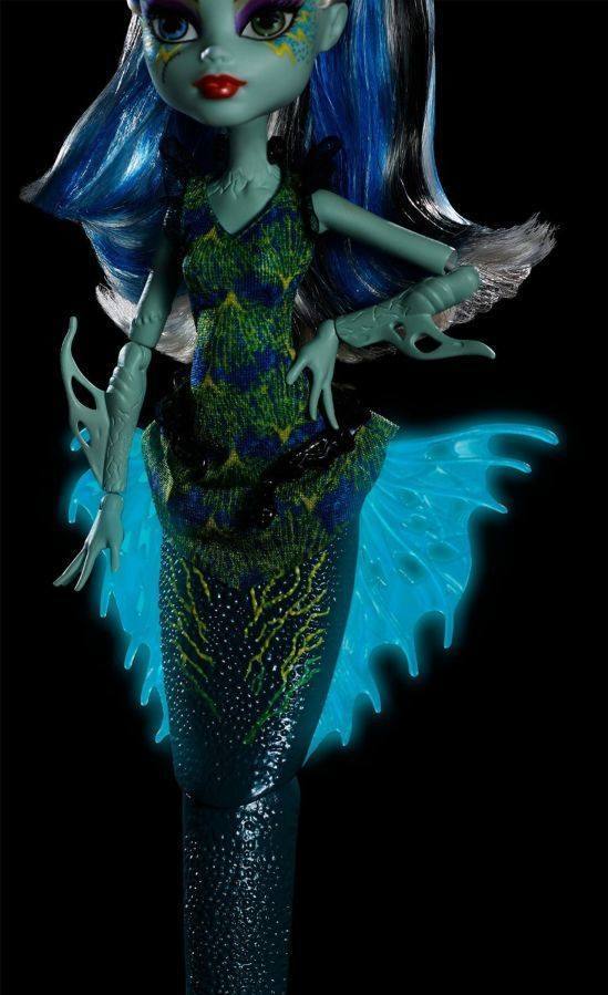 Фото 6 - Monster high great scarrier reef Ghoulfish Frankie Stein