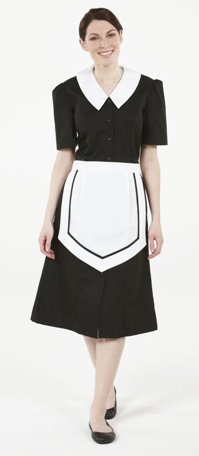 Фото - Стильная форма для клининга, платья и фартуки горничных