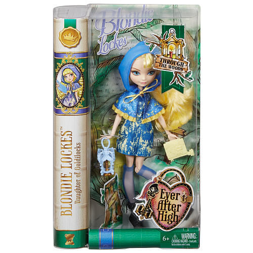 Фото 4 - Ever After High Through The Woods Blondie Lockes Doll