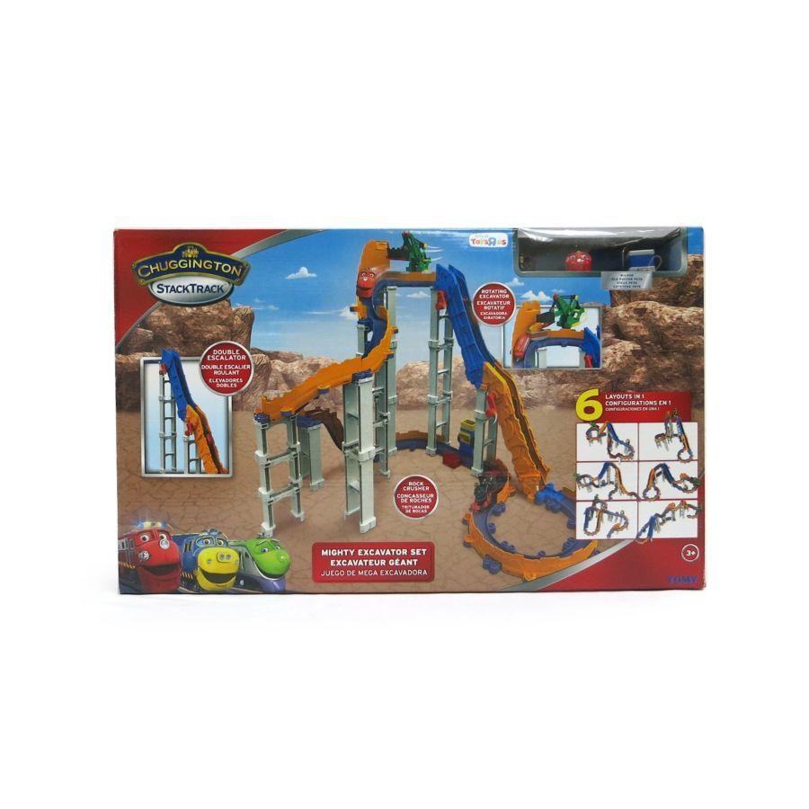 Фото 8 - Chuggington StackTrack Mighty Excavator Set