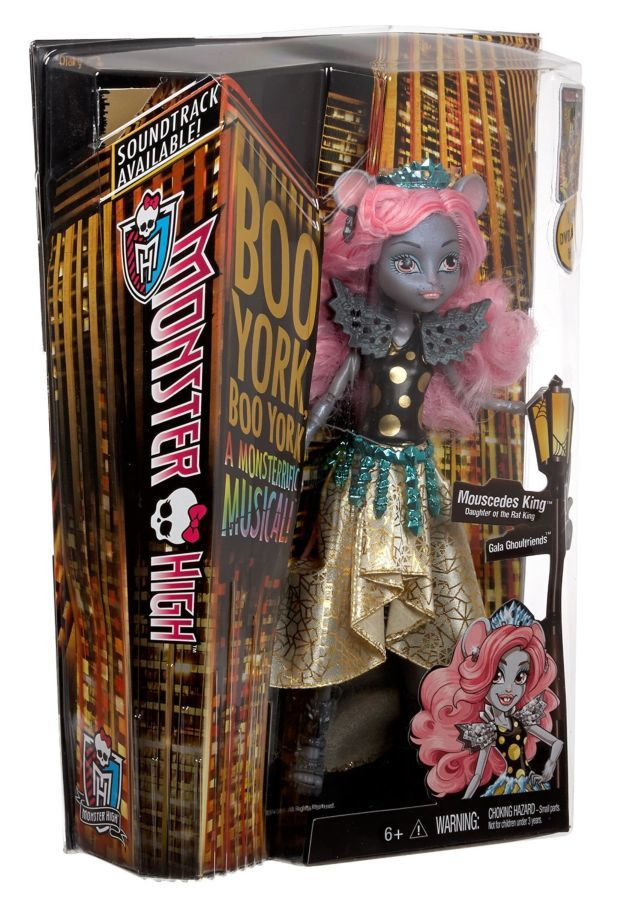 Фото 6 - Monster high boo york, gala ghoulfriends Mouscedes King