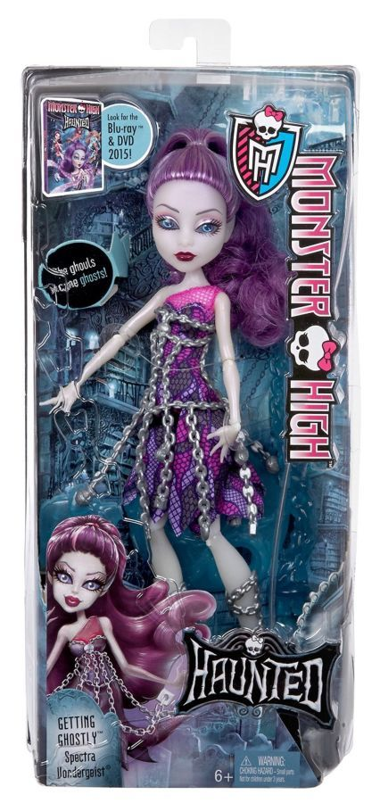 Фото 2 - Monster high getting ghostly Spectra Vondergeist