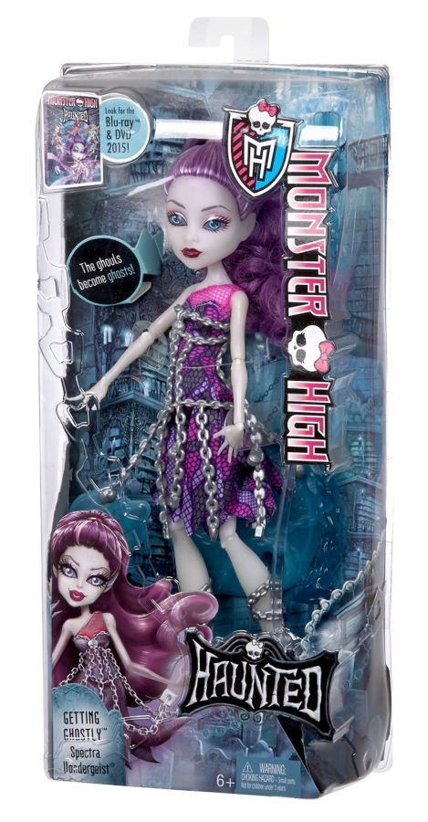 Фото 3 - Monster high getting ghostly Spectra Vondergeist