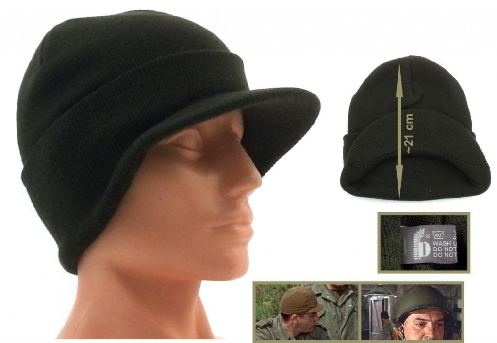 Фото - шапка с козырьком