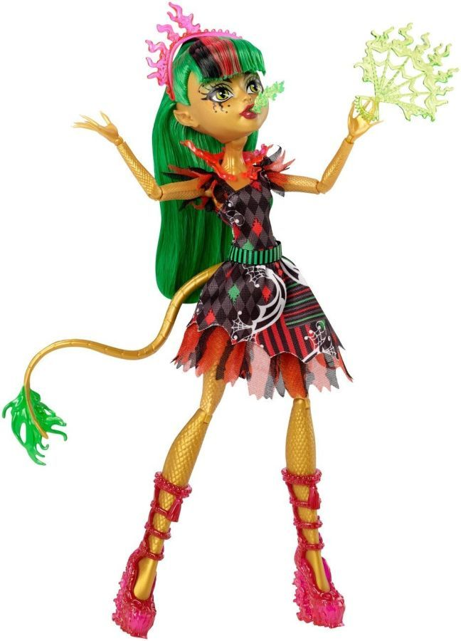 Фото 2 - Monster high freak du chic Jinafire Long