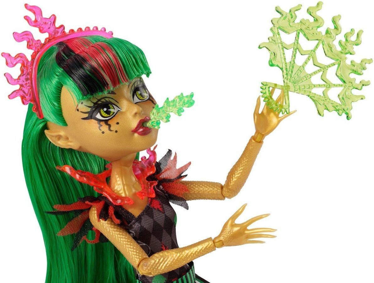 Фото 4 - Monster high freak du chic Jinafire Long