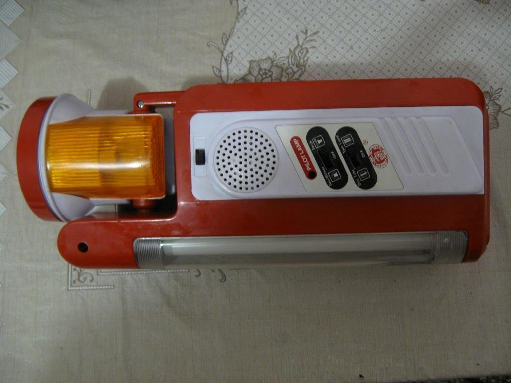 Фото - Переносной фонарь с люминесцентными лампами (неиспр)