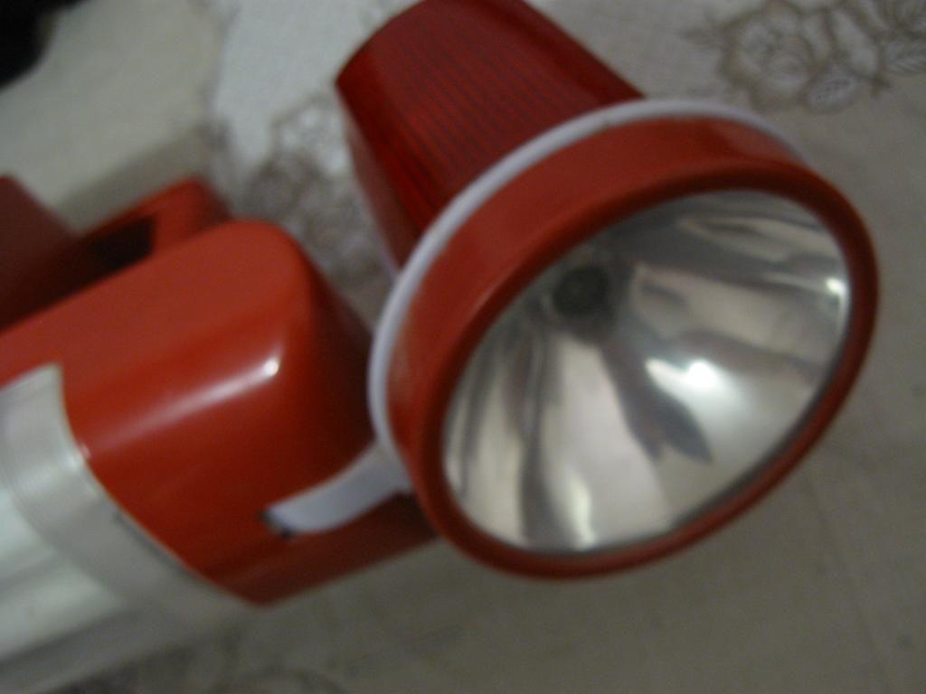 Фото 6 - Переносной фонарь с люминесцентными лампами (неиспр)