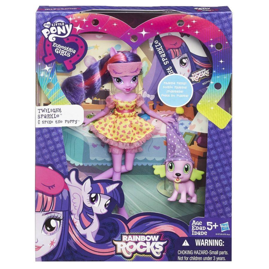 Фото 8 - My little pony equestria girls Twilight and Spike