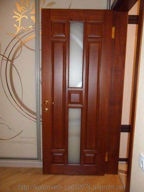 Фото - Деревянные двери  любой  сложности и любого типа