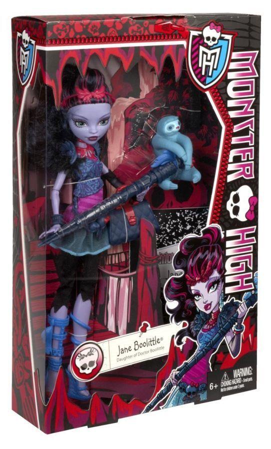 Фото 9 - Monster High Jane Boolittle Doll