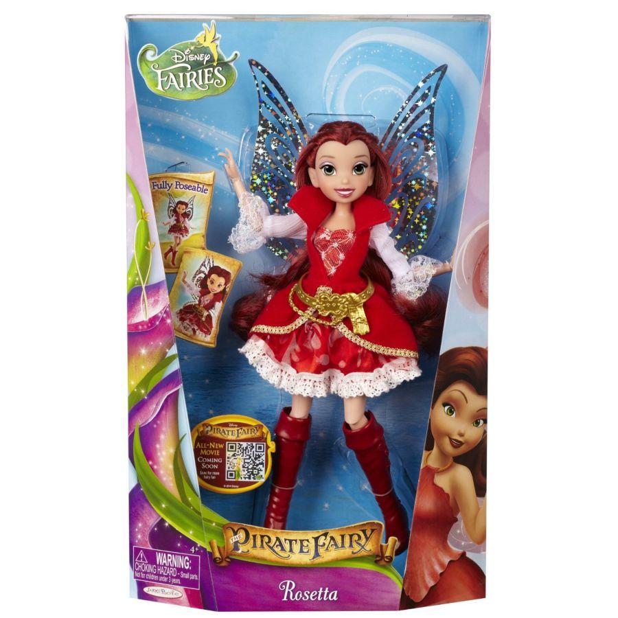 Фото 2 - Disney fairies the pirate fairy Rosetta