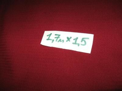 Фото - Ткань бордовая. Размер: 1,7*1,5м