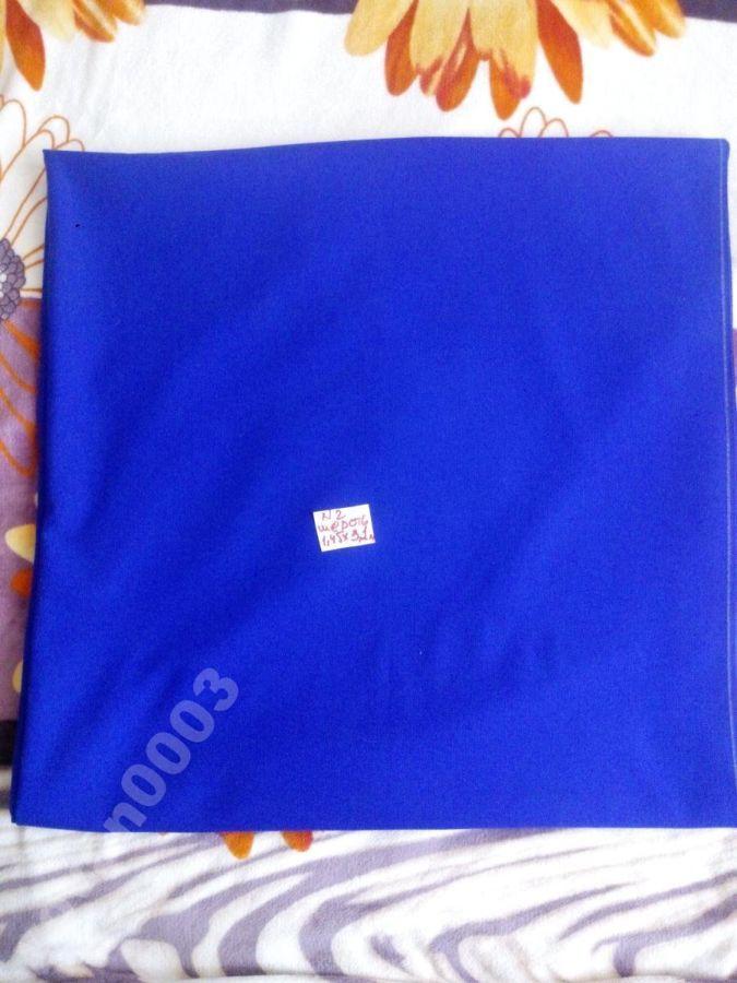 Фото 3 - Ткань голубая шелк (1)