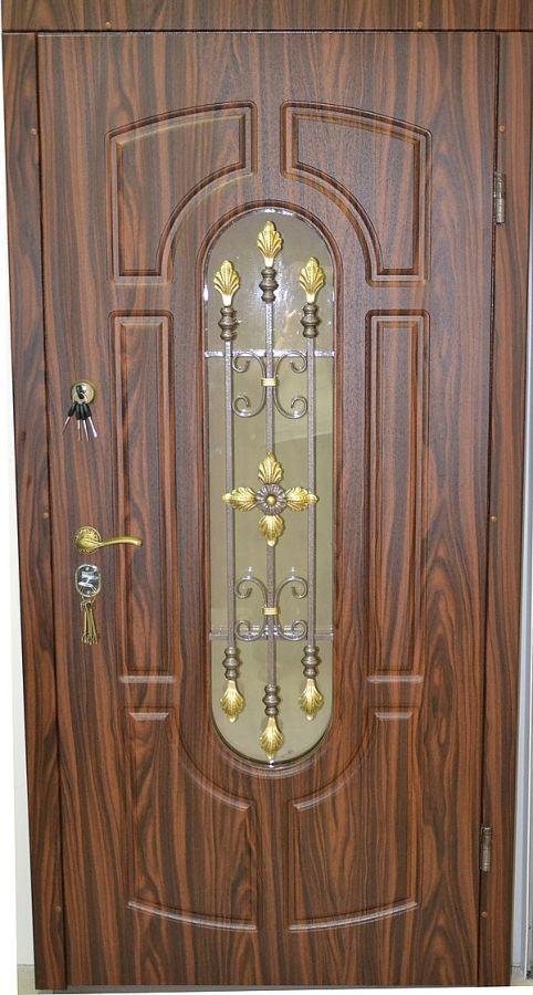 Фото 5 - Обшивка входных дверей влагостойкими дверными накладками