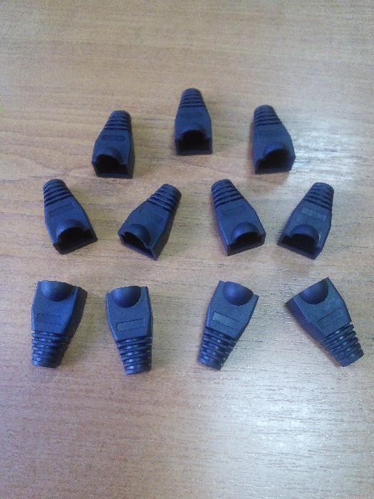 Фото 4 - Резиновые колпачки для коннектора RJ-45 (разные цвета)