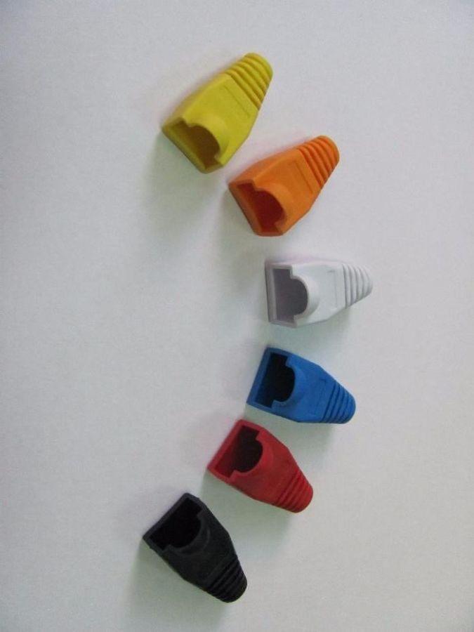 Фото - Резиновые колпачки для коннектора RJ-45 (разные цвета)