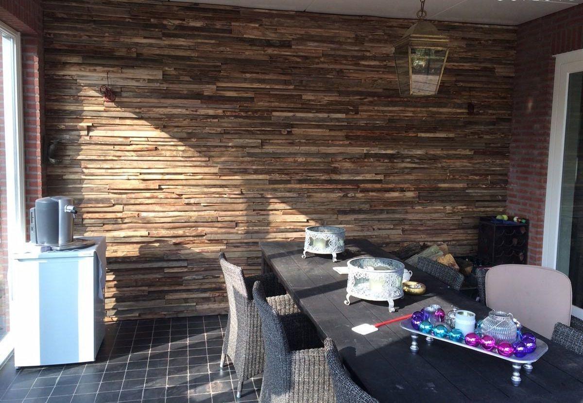 Фото 4 - Деревянная 3-D мозаика, декорирование стен деревом.