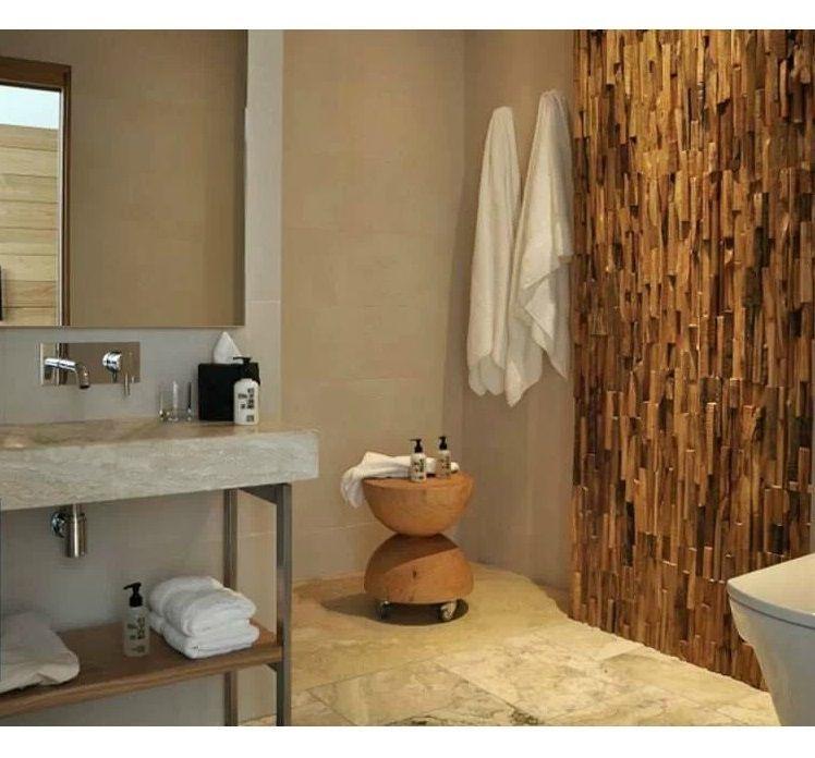 Фото 4 - Декорирование стен деревянной 3-D мозаикой, деревянные панно.
