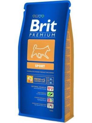 Фото - BRIT Premium Sport Брит премиум спорт - корм для активных собак 15кг