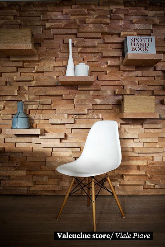 Фото 10 - Украшение стен деревянными панелями 3-D мозаикой, изголовье.