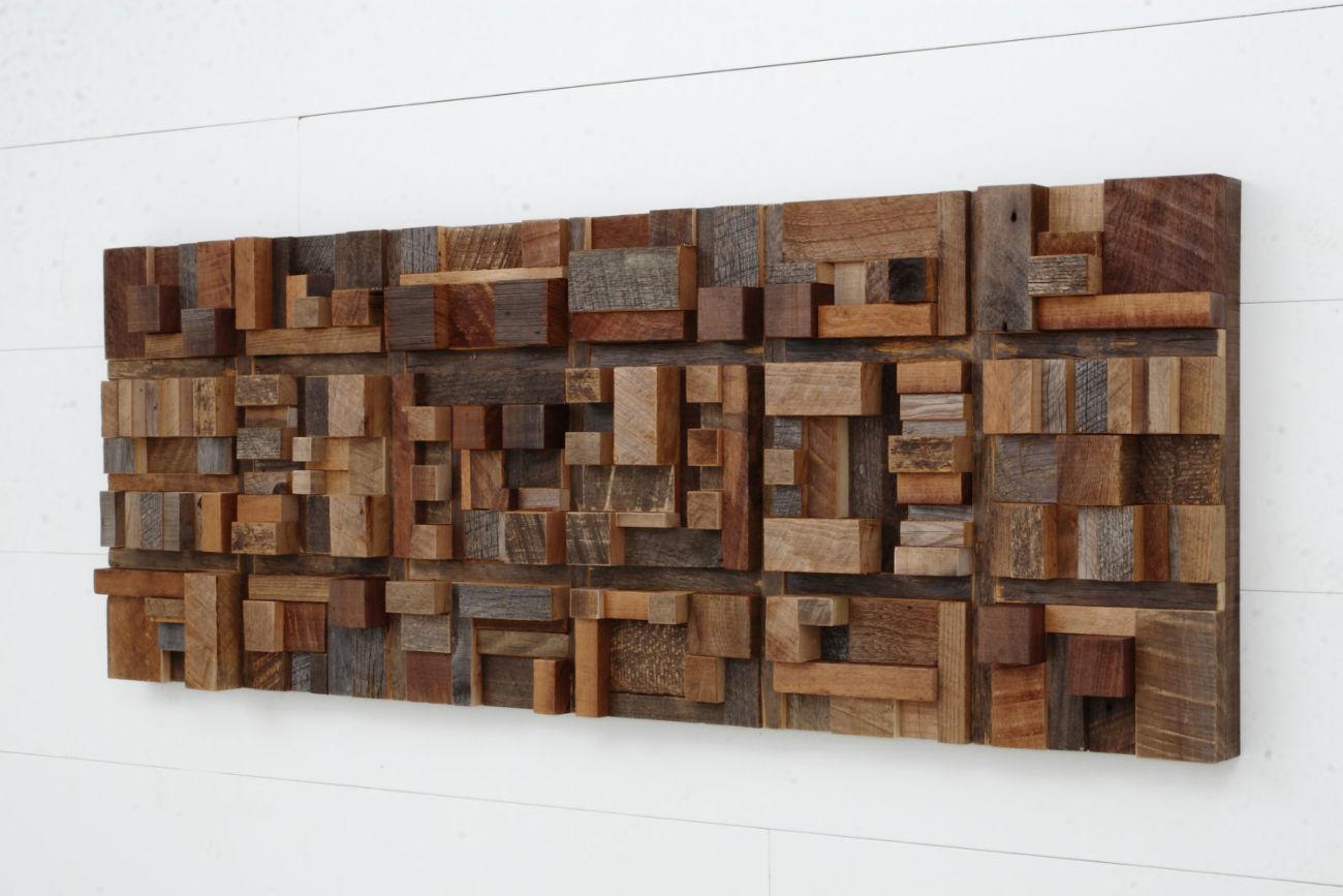 Фото 8 - Дизайн интерьеров в дереве, 3-D мозаика, деревянные панно.