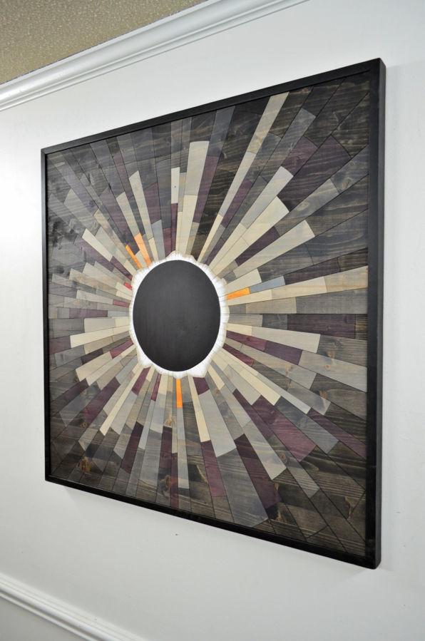 Фото 6 - Дизайн интерьеров в дереве, 3-D мозаика, деревянные панно.