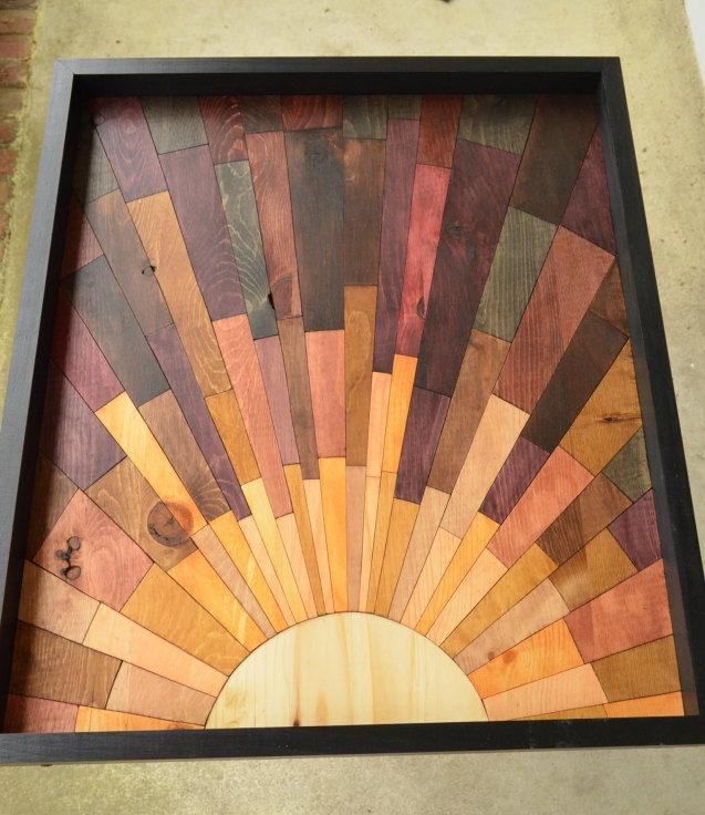 Фото 2 - Дизайн интерьеров в дереве, 3-D мозаика, деревянные панно.