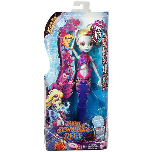 Фото 4 - Monster High Great Scarrier Reef - Glowsome Ghoulfish Lagoona Blue