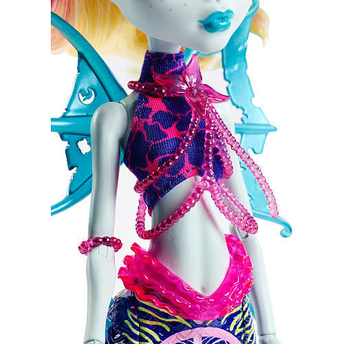 Фото 2 - Monster High Great Scarrier Reef - Glowsome Ghoulfish Lagoona Blue