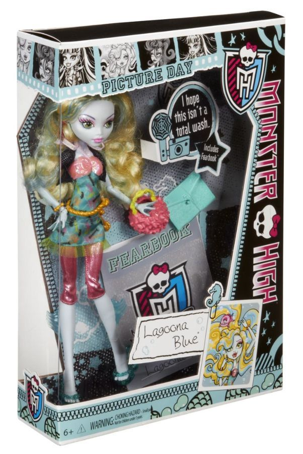 Фото 4 - Monster High Picture Day Lagoona Blue Doll