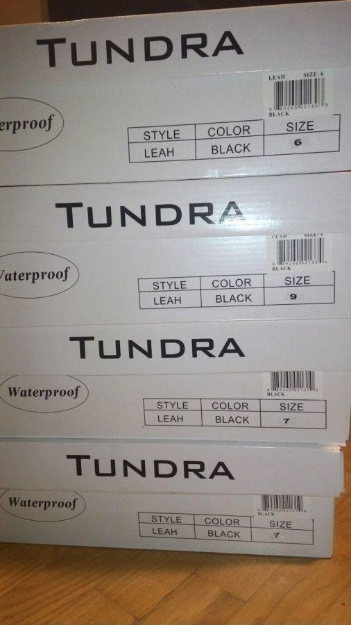 Фото 9 - термоСапожки Tundra разм.6,7,9US стелька24см 24,5см 26,5см