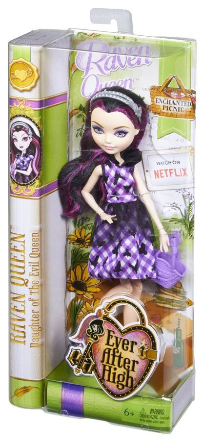 Фото 6 - Ever after high enchanted picnic Raven Queen