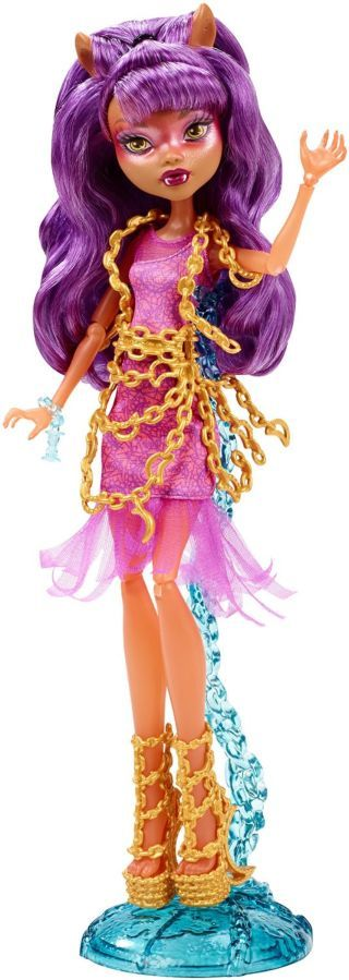 Фото 2 - Monster high haunted getting ghostly Clawdeen Wolf