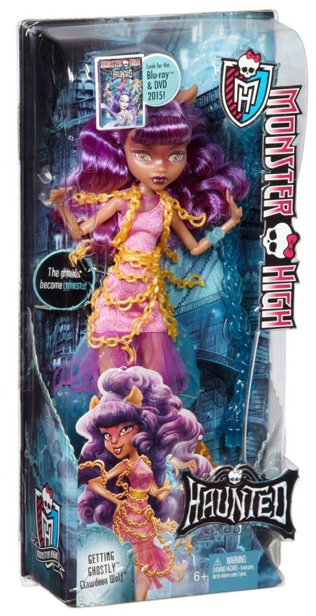 Фото 6 - Monster high haunted getting ghostly Clawdeen Wolf