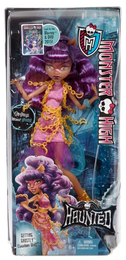 Фото 5 - Monster high haunted getting ghostly Clawdeen Wolf