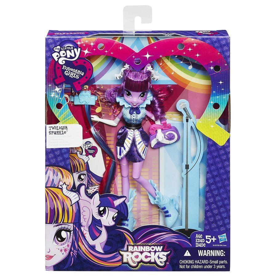 Фото 6 - My little pony rainbow rocks twilight sparkle rockin hairstyle