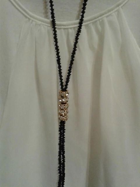 Фото 4 - Бусы с подвесками. Длинные. Биссерные. Ожерелье. Украшение на шею.