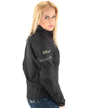 Фото 4 - Женская текстильная мотокуртка OJ UNSTOPPABLE Black (J094)
