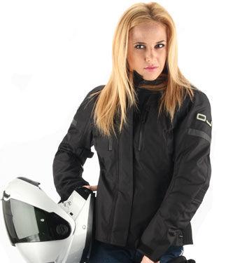 Фото 3 - Женская текстильная мотокуртка OJ UNSTOPPABLE Black (J094)