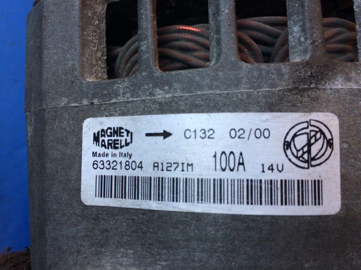 Фото 4 - генератор 63321804 Альфа Ромео 145, 146, 147,156 Мареа Браво Пунто JTD