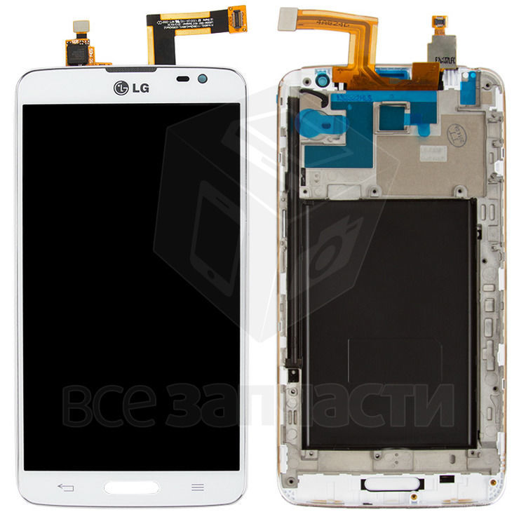 Фото - Дисплейный модуль LG D680 G Pro Lite, D682 G Pro Lite, белый,