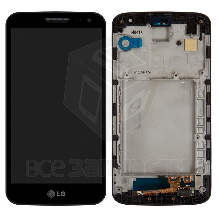 Фото - Дисплейный модуль LG D620 G2 mini, черный,  с передней панелью