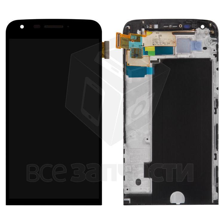 Фото - Дисплейный модуль LG G5 H820, G5 H830, G5 H850, G5 LS992, черный,