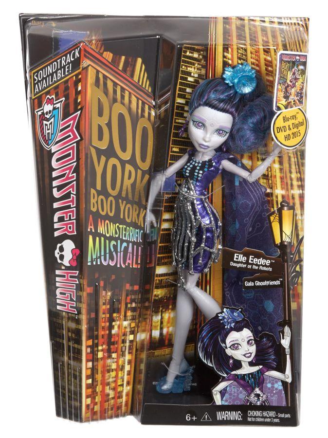 Фото 4 - Кукла Эль Иди из серии Boo York. Куклы Монстр Хай
