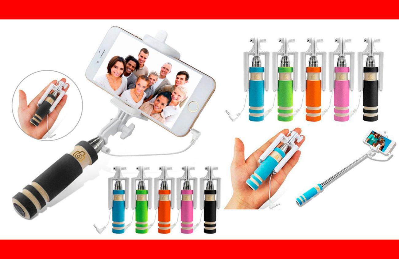 Фото - Селфи палка 5 Цветов selfie stick mini монопод для телефонов iphone